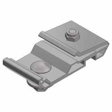 Afbeeldingen van Alu klem voor power optimizer/micro omvormer - voor inleg pr