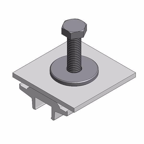 Bild von Alu klem voor optimizer/ micro - voor Side+ en trapezium