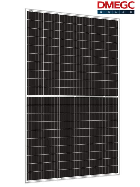 Afbeeldingen van DMEGC 335W_Mono half cel/ zilver frame witte backsheet