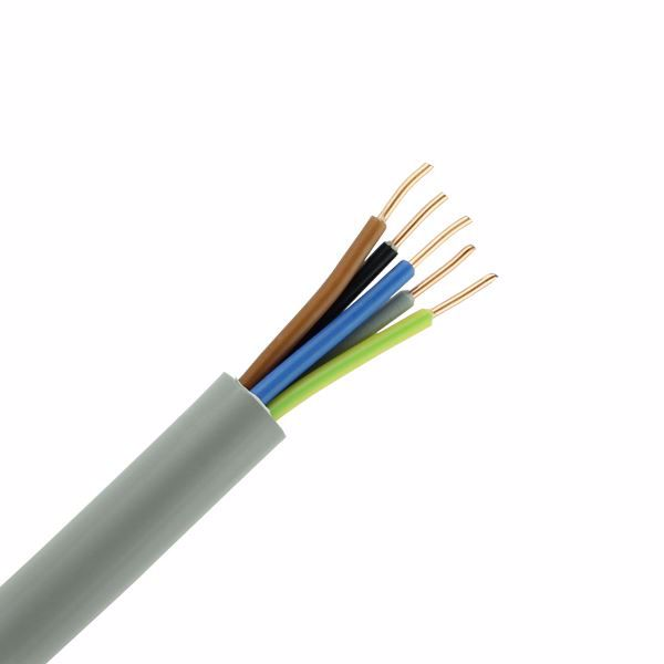 Bild von YMVK kabel Grijs 5x2.5mm²/ rol 50m¹