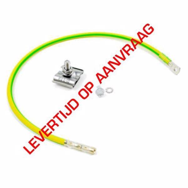 Afbeeldingen van Aardingskit 6mm kabel incl UNIclamp L=100cm