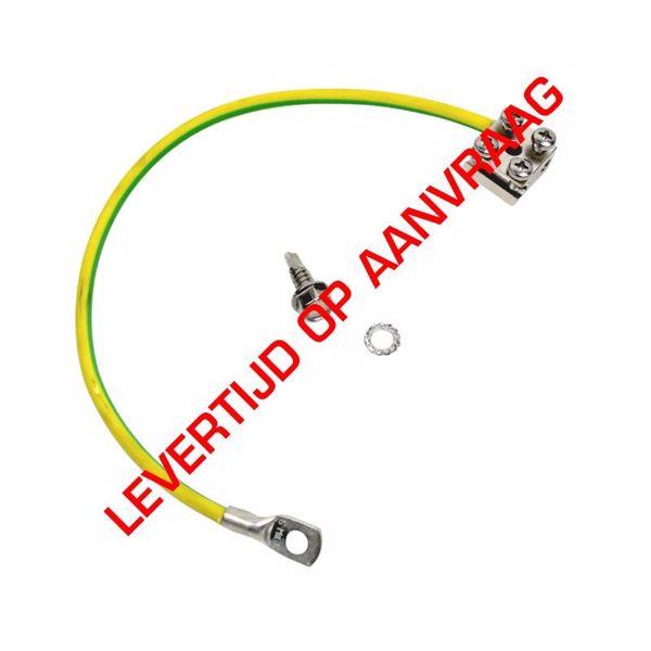 Afbeeldingen van Aardingskit 6mm kabel incl aardblok L=50cm