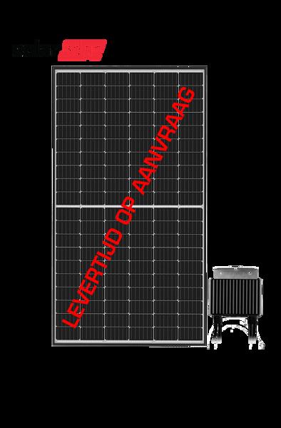 Afbeeldingen van SolarEdge 370Wp zilver frame geïntegreerde optimizer